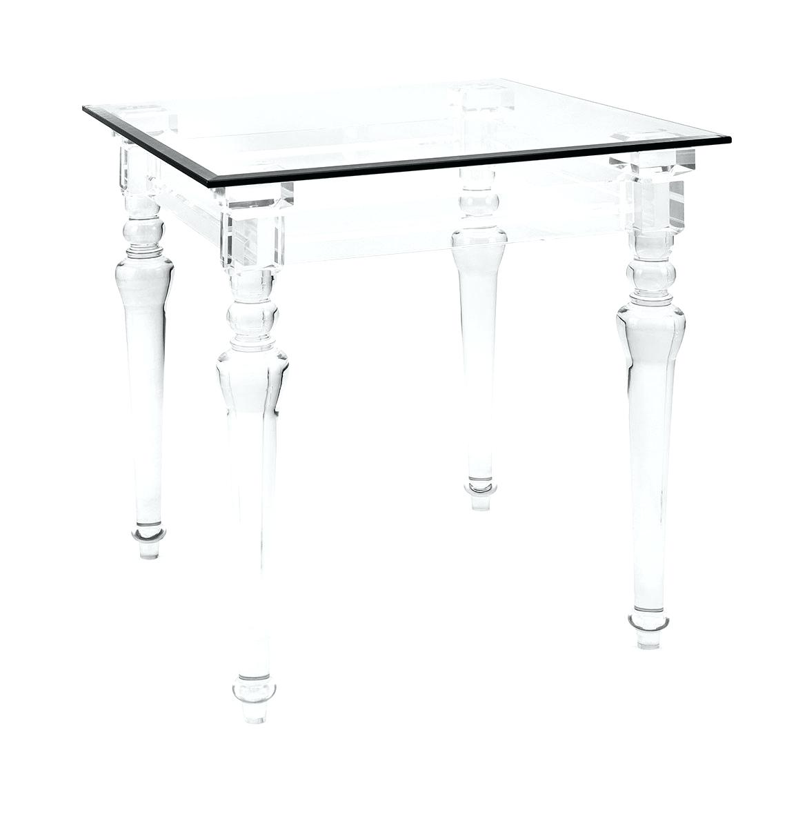 acrylic accent table small pottery barn sconces collapsible side wedding covers colorful lamps storage furniture for spaces bridal shower registry patio modern coffee legs high