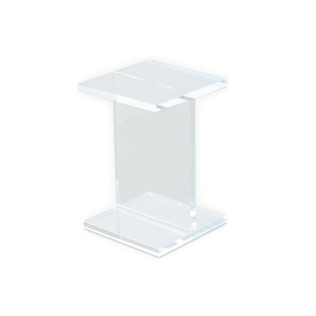 acrylic beam table accent tables gus modern black light brown end target windham coffee living room lamps home wall decor ocean themed lamp shades foyer furniture mirror