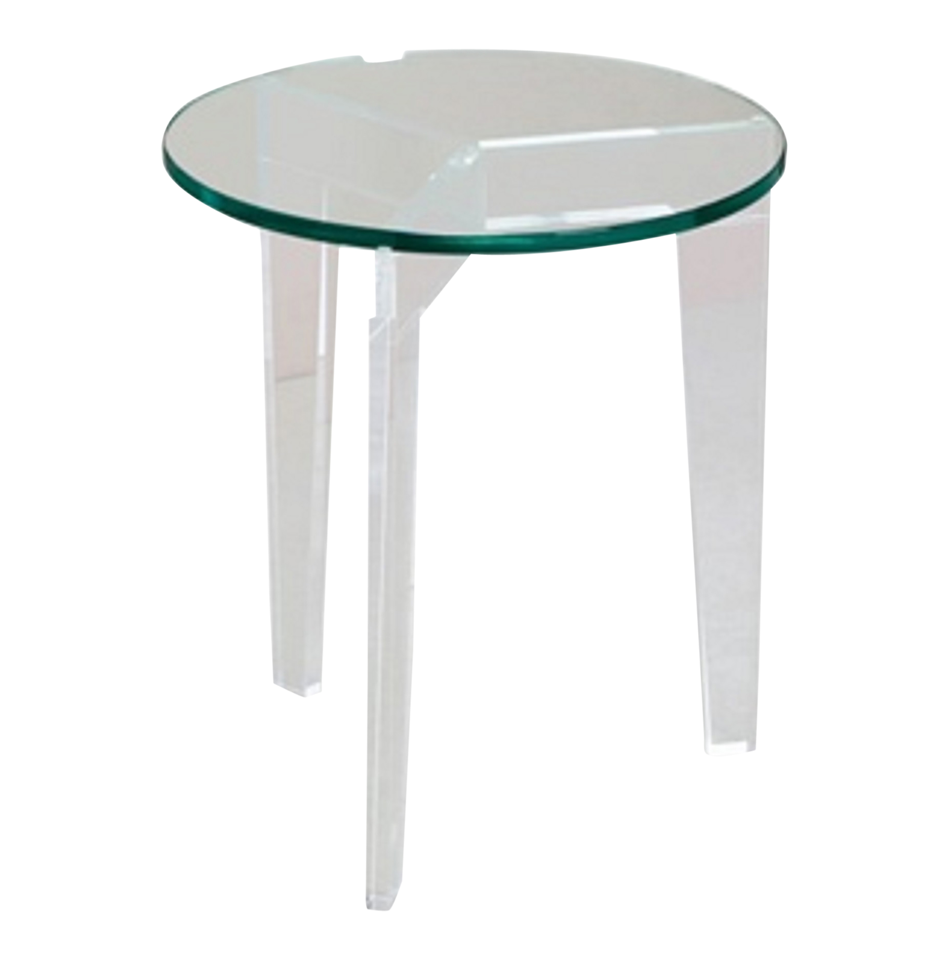 acrylic end table ashley accent tables clear zella small screw wooden legs home goods argos garden and chairs mango dining seaside themed lamps tablecloth factory glass lamp pier