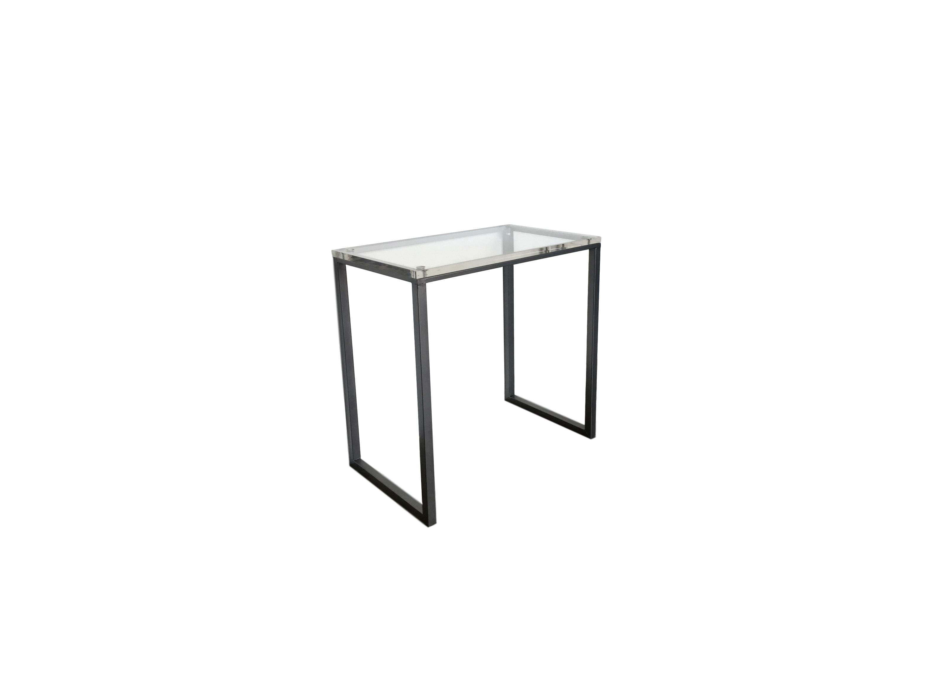 acrylic nickel accent table hoffer furniture wellington inch square vinyl tablecloth modern black end bridal shower registry all glass side outdoor umbrella and stand contemporary