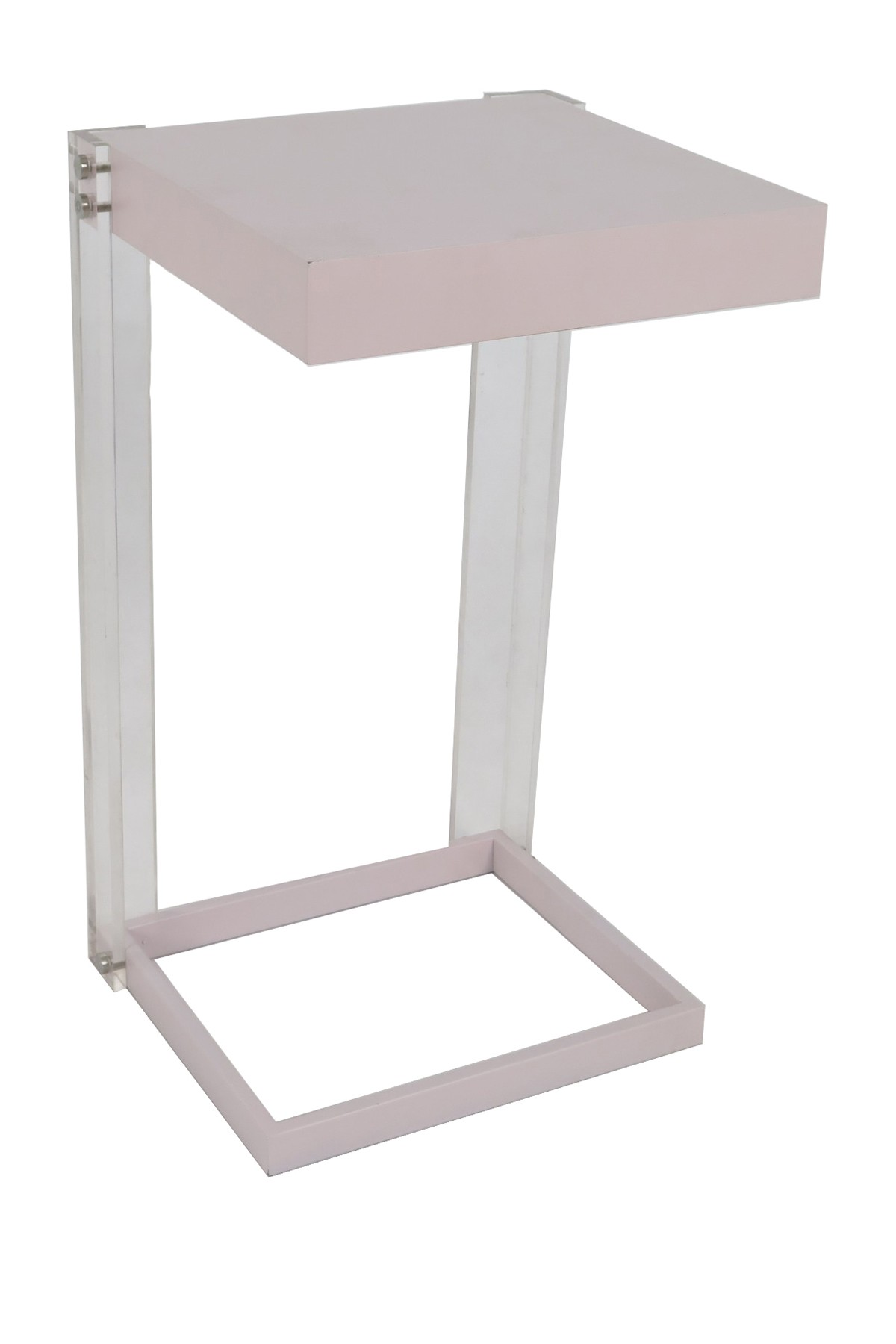acrylic wood light pink floating accent table sagebrook home modern black end small patio silver crystal lamp collapsible side pottery barn sconces height tables hardwood door