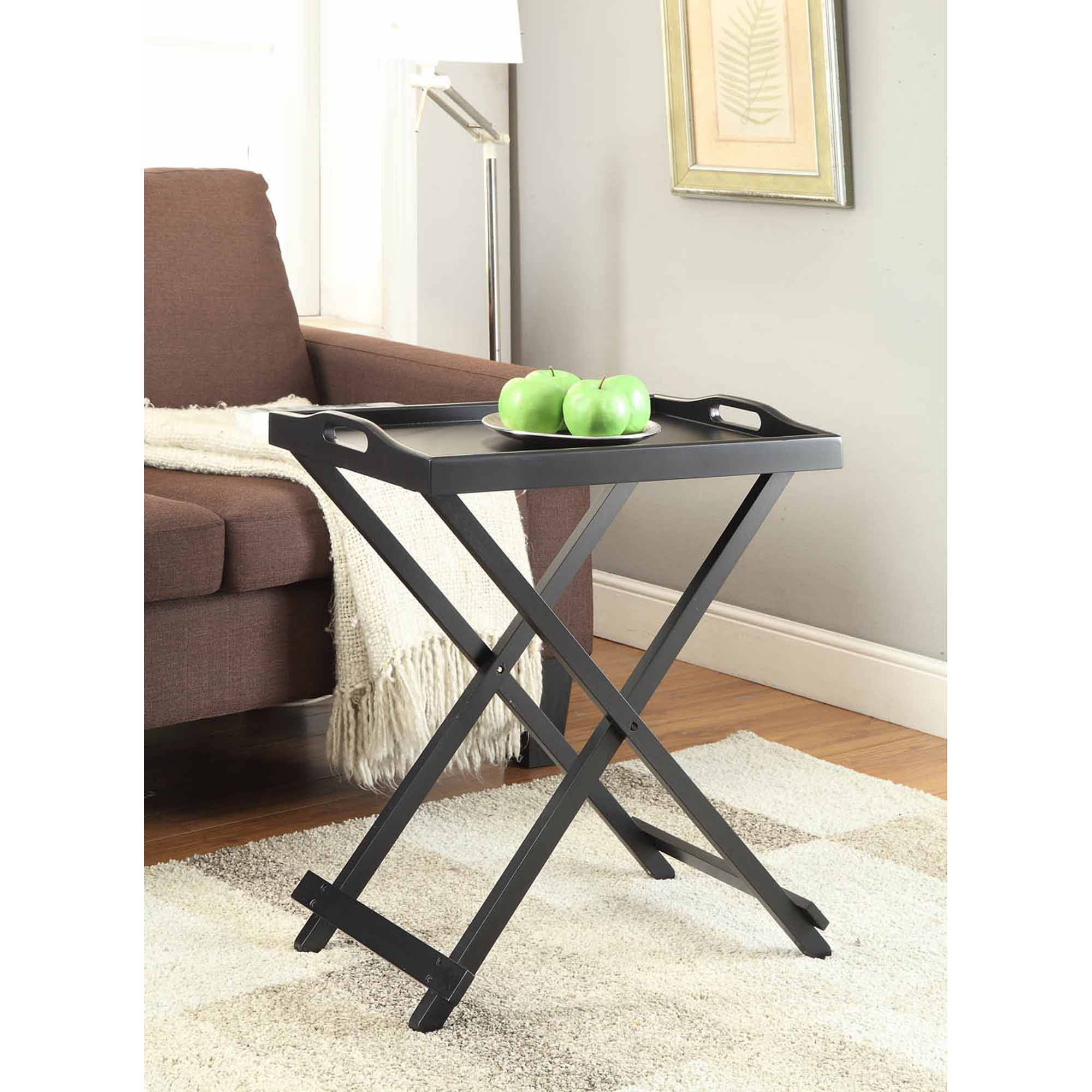 adams manufacturing quik fold compact side table accent with tray battery operated lamps round outdoor patio hairpin legs ikea coffee nest tables underneath curtain wire umbrella