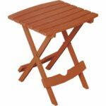 adams quik fold rectangle side table best super zoom outdoor orange black kitchen set sun umbrellas for decks crib furniture sets round glass nest tables short metal electric wall 150x150