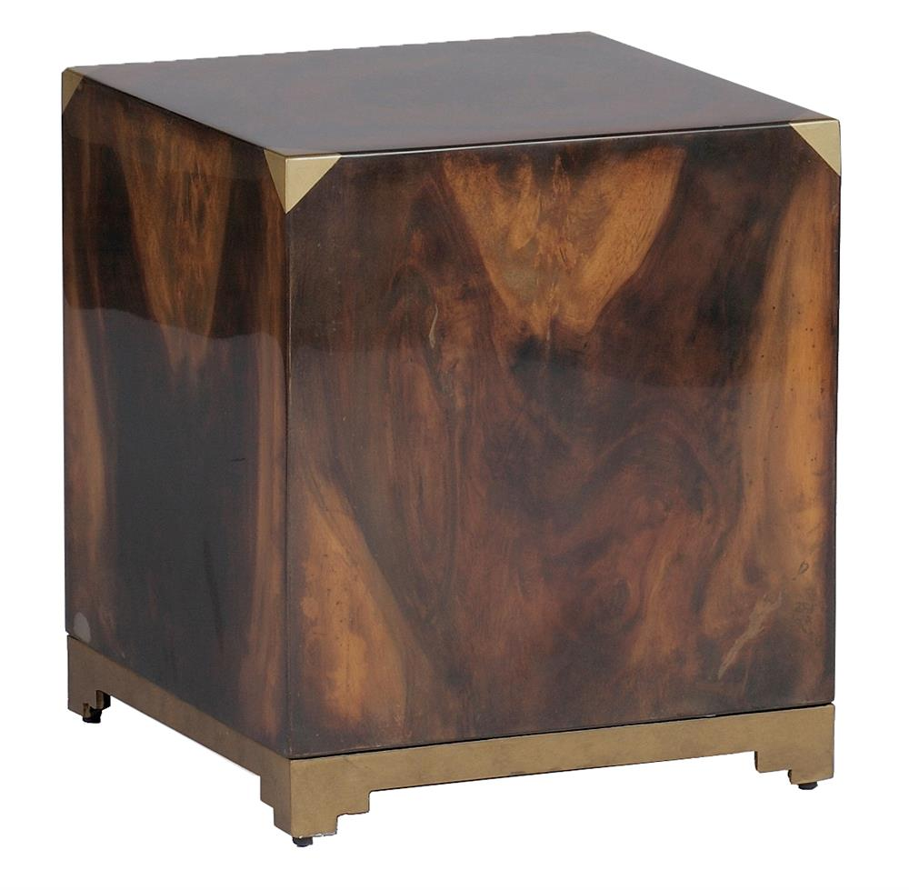 addison solid polished wood art deco brass cube ott end table product quatrefoil accent kathy kuo home three piece set chairs fire pit moroccan tray uttermost martel console kids