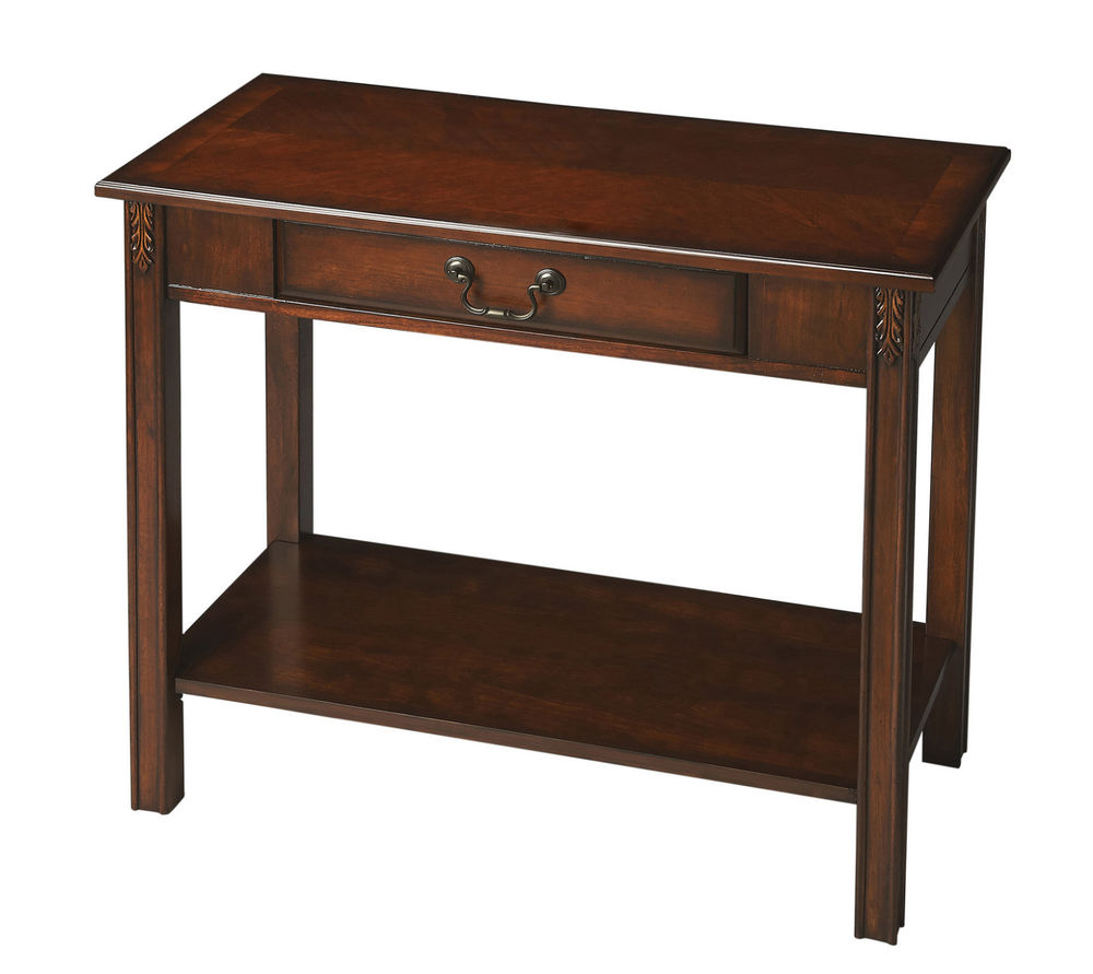 adeco square accent table with drawer baskets tables kenton console cherry finish inch pottery barn flower dark brown wood end changing pad antique nautical lights target chairs