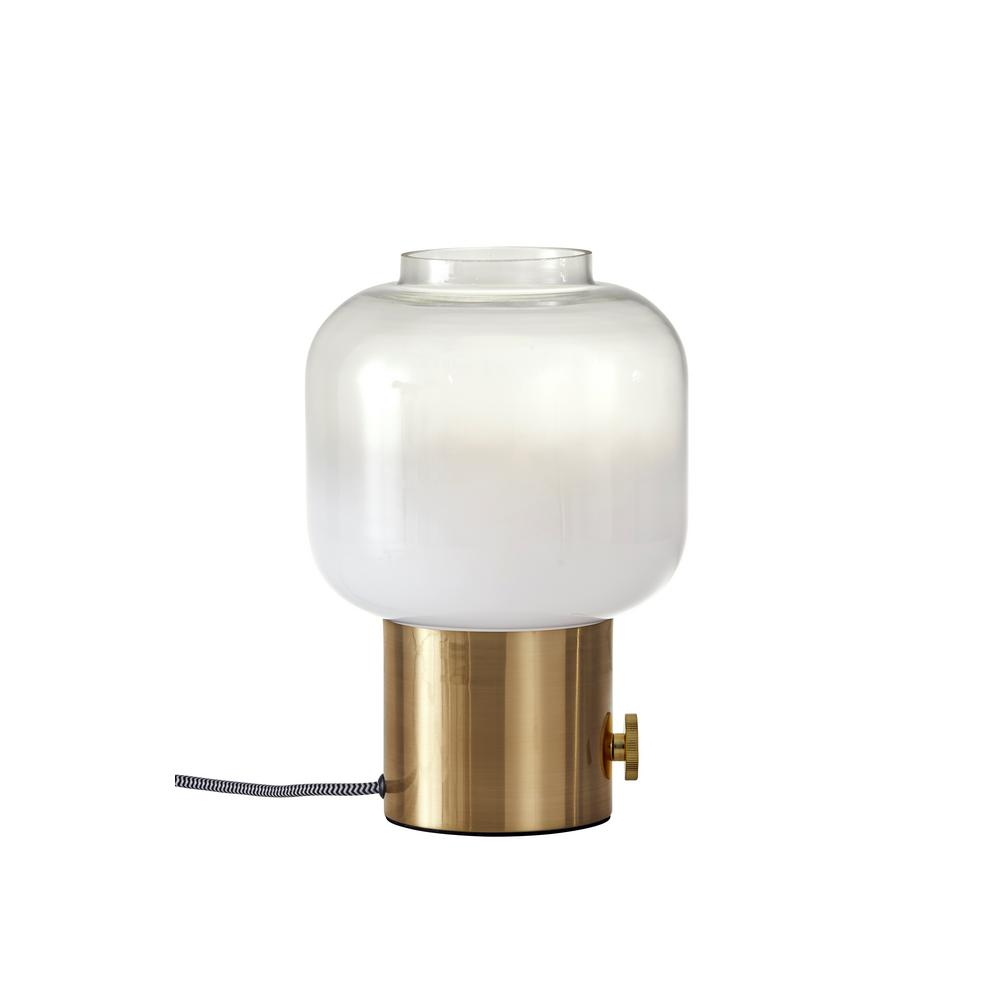 adesso lewis brass table lamp the lamps miniature accent light mango wood furniture outside patio side tables antique and chairs glass chest drawers cushions pottery barn white