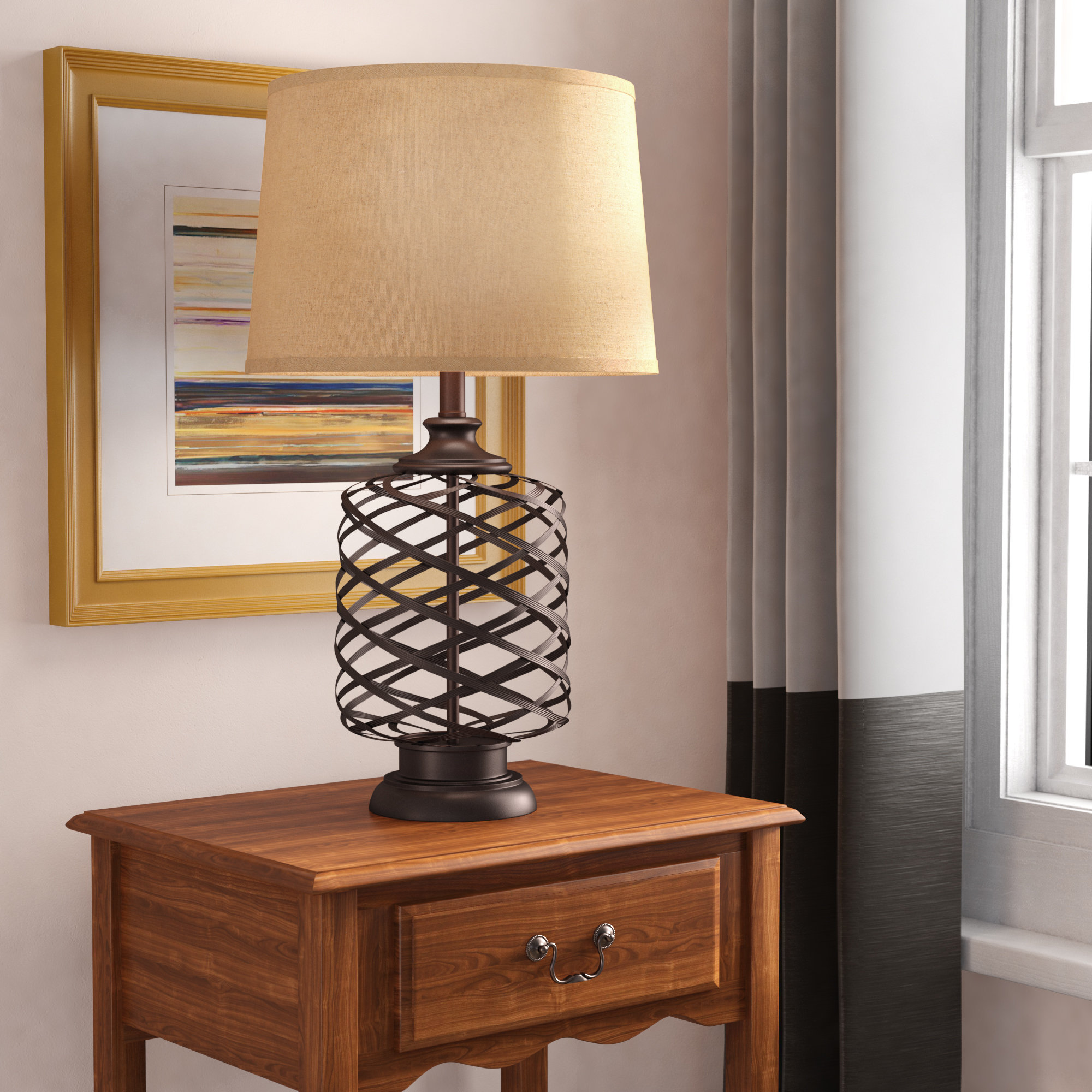 adline table lamp reviews birch lane bedford jute rope accent vintage mirror coffee drum tables living room glass top corner seagrass battery operated light fixtures round side