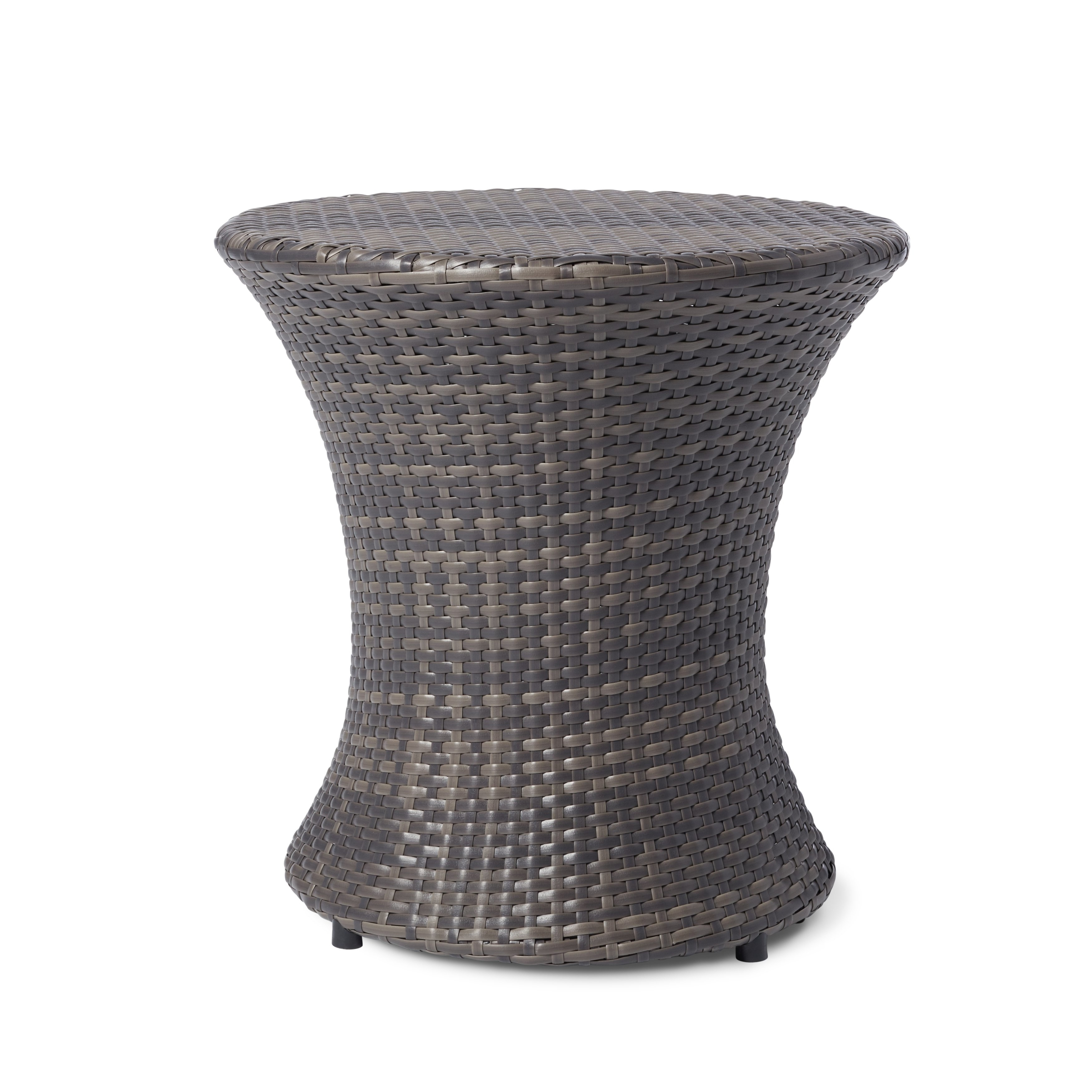 adriana wicker outdoor side table christopher knight home furniture free shipping today bathroom bidet mercury glass lamp cast metal accent nate berkus acrylic with shelf mosaic
