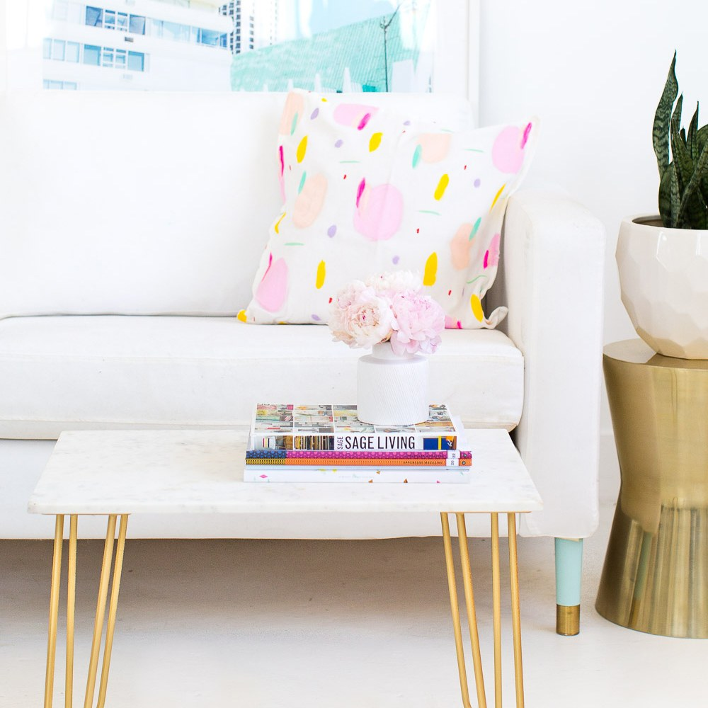 affordable diy living room projects teen vogue tout woven metal accent table outside patio all modern furniture colorful side target white chairs tall square coffee cooler sofa