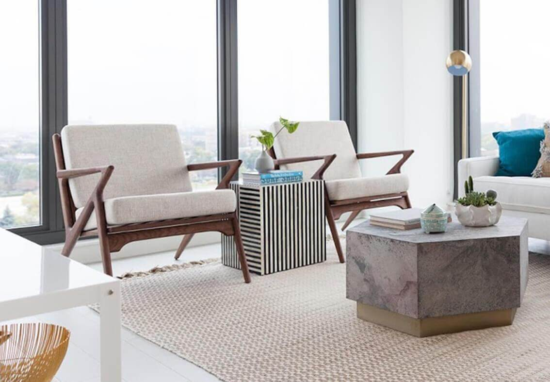 affordable modern furniture sofas chairs tables new arrivals dining table with accent always fresh never frozen sofa set bangalore york west elm round mirror small room sets bar