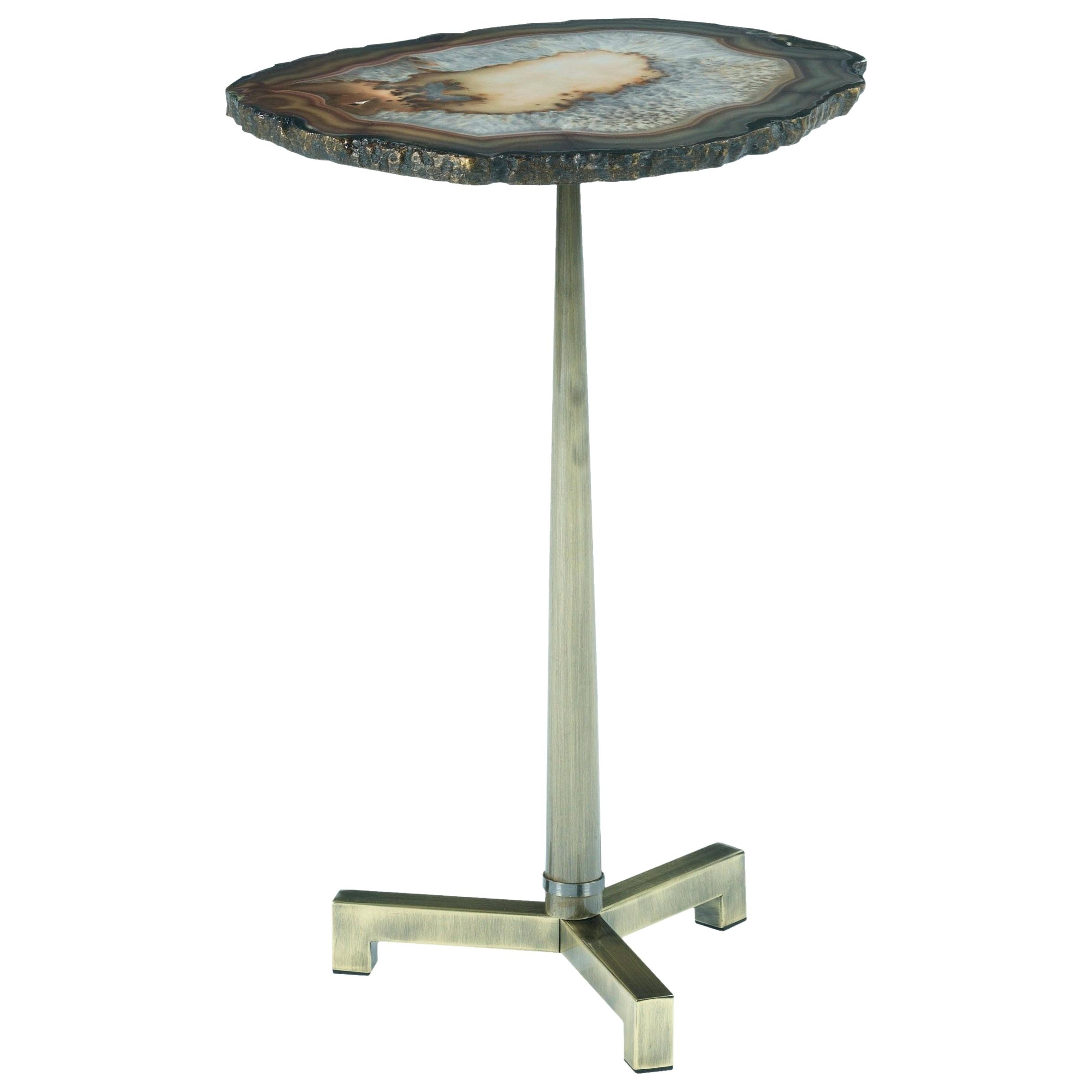 agate accent table glass burmatravel end with steel base purple nate berkus inch tall kitchen decor ideas mudroom storage units distressed gray bistro set unfinished legs mini