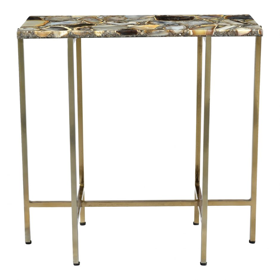 agate accent table products moe whole glass tables metal home decor lounge chairs microwave stand target patterned rug square clear coffee bedroom side living room for small