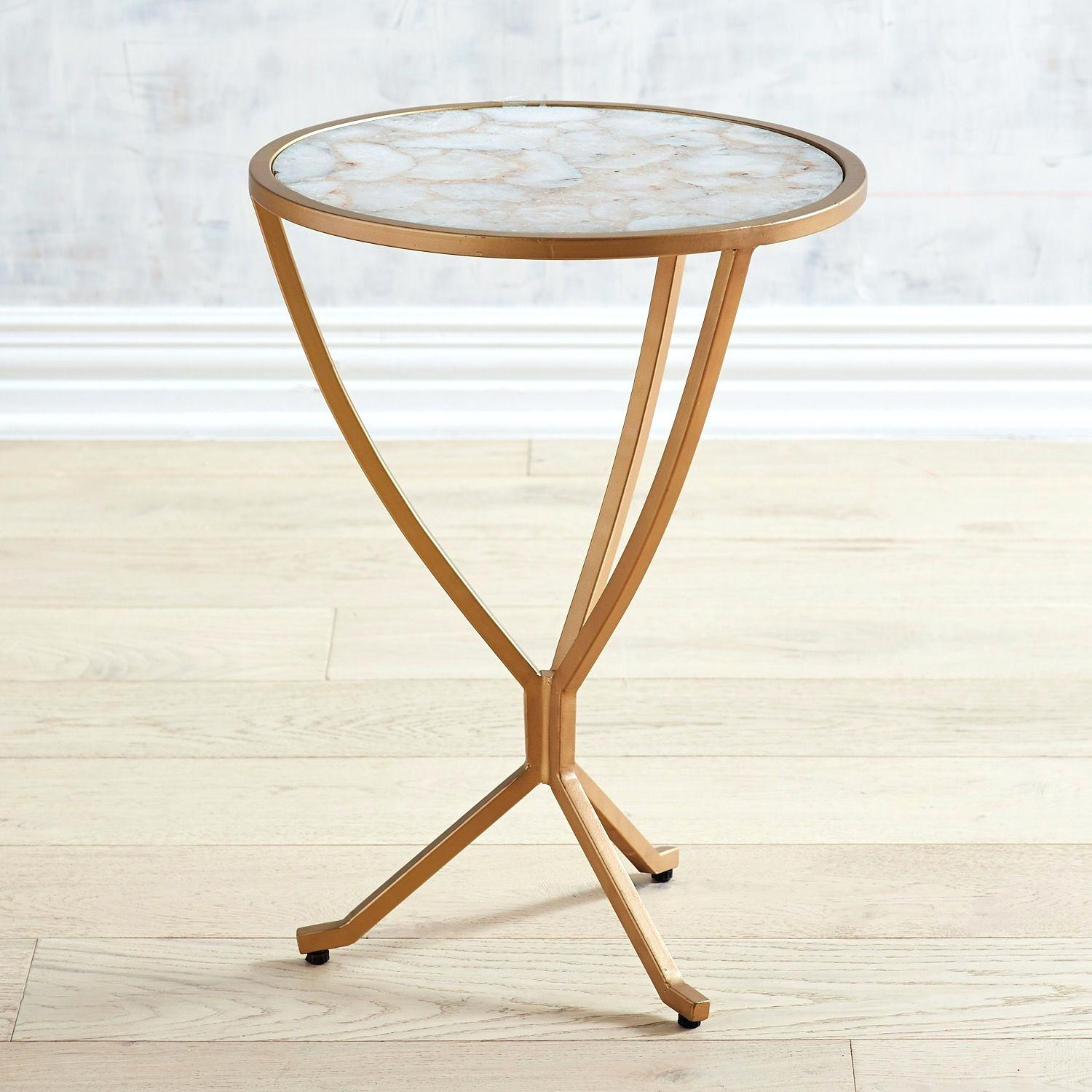 agate accent table side faux chip save this item open gallery natural blue glass lounge chairs cordless lamps for living room vintage oak nest tables with drawer gold decorative