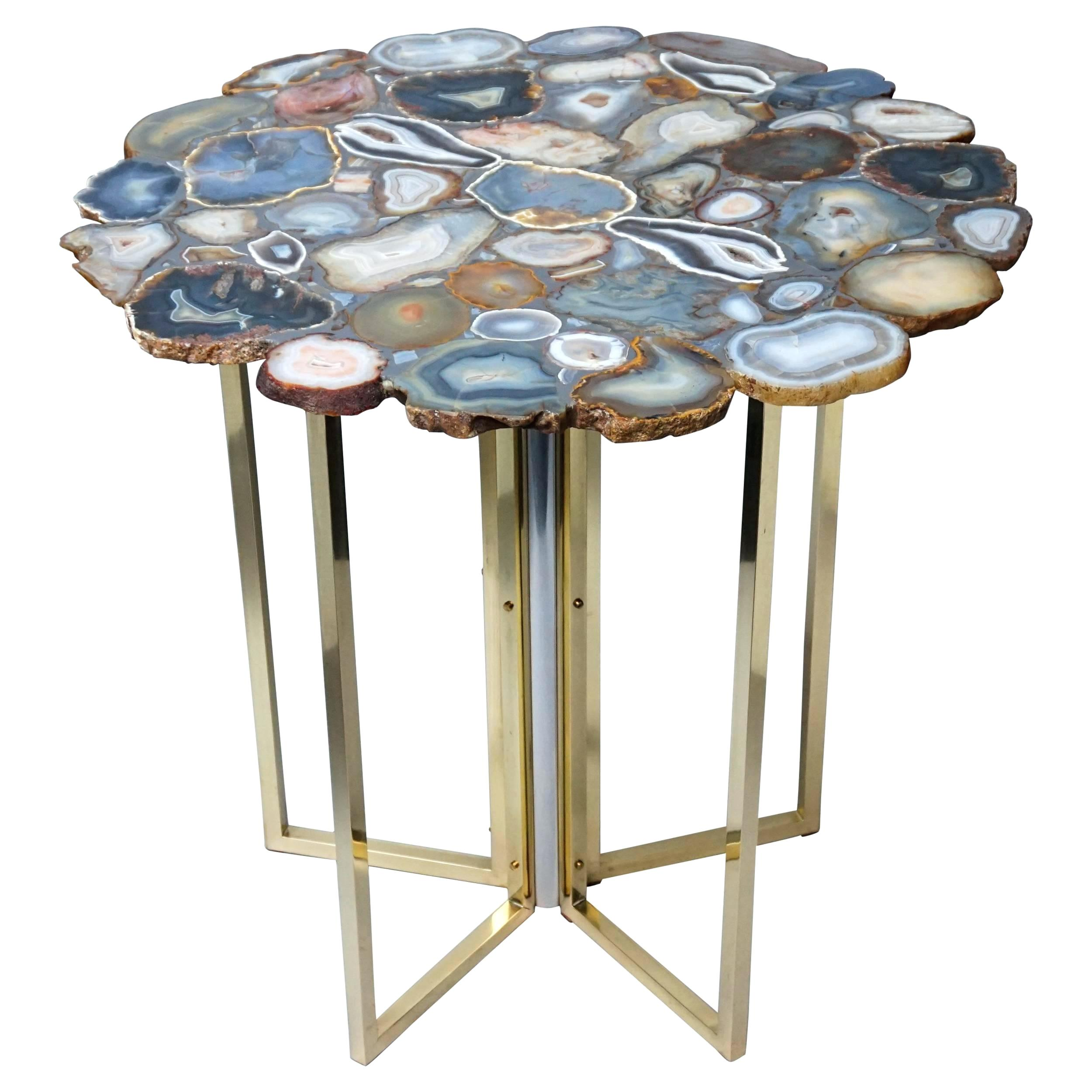 agate side table bidadari info vintage top brass and chrome legs for target accent uttermost dice red small deck furniture coffee designs affordable leather sofa farm style end