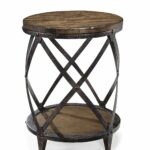 agreeable rustic white accent table round wood diy brown reclaimed black decor corner and tables lamps dining small runner tableware tablecloth distressed legs cloth full size 150x150