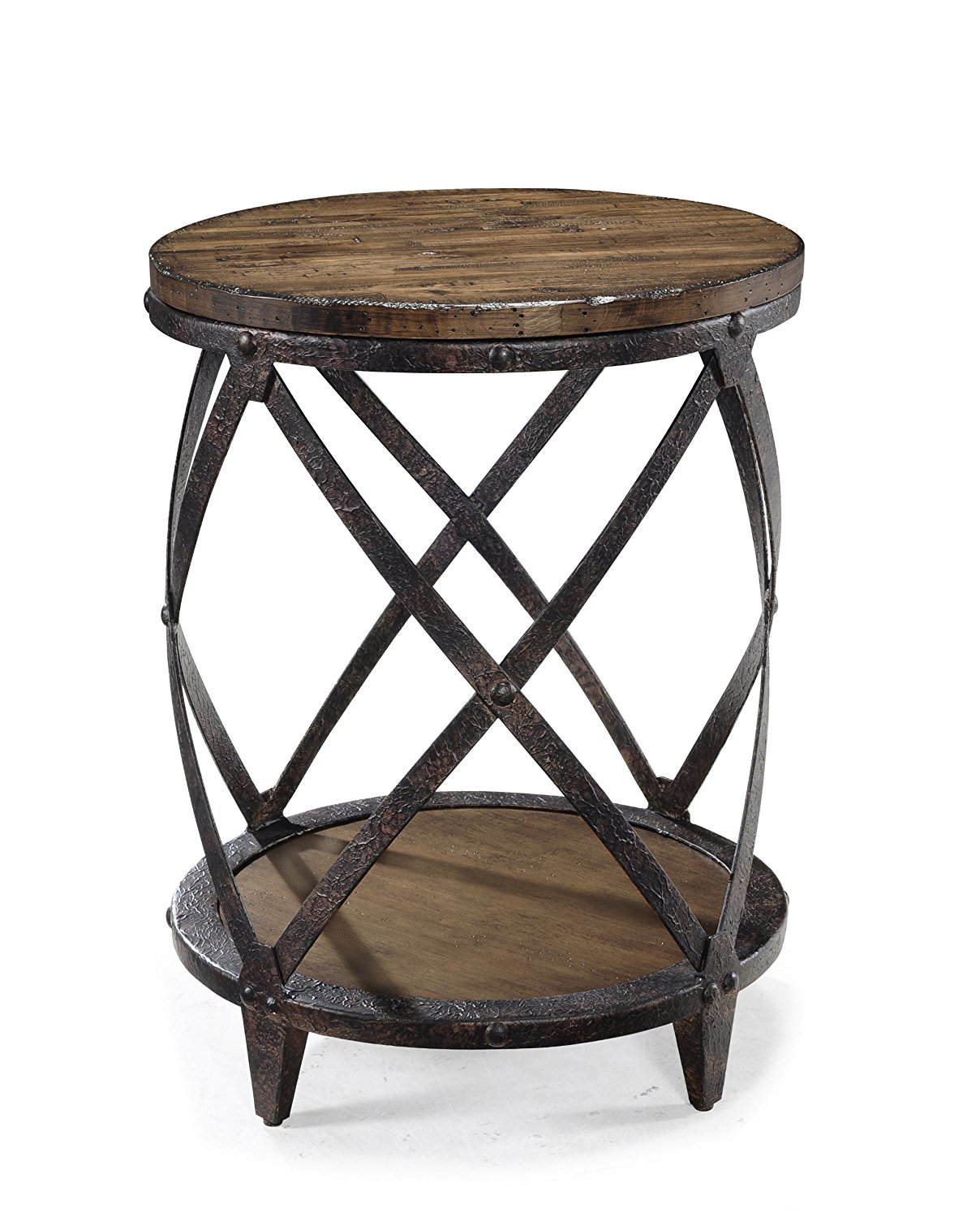 agreeable rustic white accent table round wood diy brown reclaimed black decor corner and tables lamps dining small runner tableware tablecloth distressed legs cloth full size