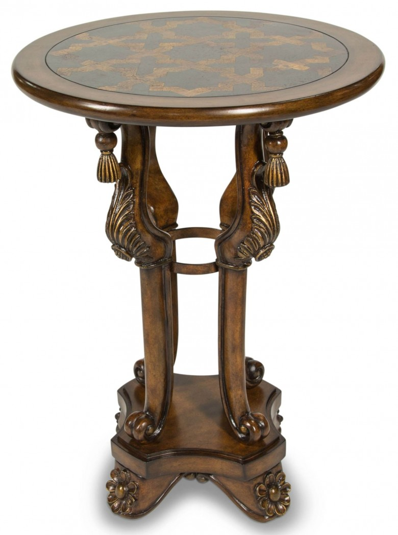 aico discoveries blackstone inlay top accent table act wood astoria patio ethan allen leather furniture parasol stand metal small copper side crystal lamp ikea kitchen knotty pine