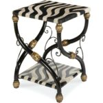 aico discoveries zebra accent table local furniture act caro sofa covers kmart woven patio clearance glass agate faux marble end west elm knock off waterproof phone pouch target 150x150