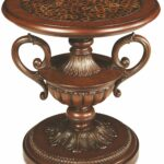 aico sofia round accent table collection reviews act sofr pinebrook solid oak coffee and end tables unique wall clocks garage door threshold seal dark nest vintage marble bistro 150x150