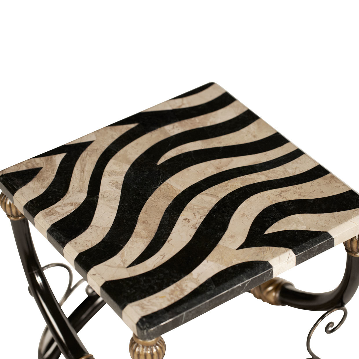 aico zebra accent table michael amini furniture designs act caro waterproof phone pouch target storage cube coffee small balcony sets white bedside lockers modern interior design