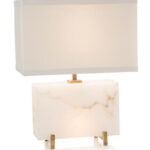 alabaster horizontal block table lamp lamps portable jrl accent white and metal coffee console wells furniture drawer end red round side contemporary lighting old oak antique 150x150
