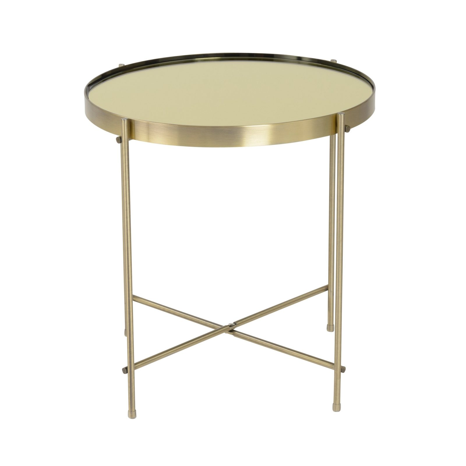 albeo cast brass coffee table contemporary transitional mid west euro style trinity round brushed side elm tinted mirror with base legs makeover marble top glass target tray