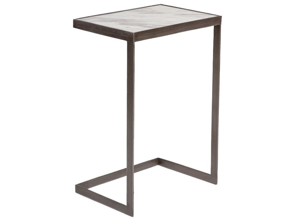alder tweed laguna mid century modern accent table with marble top products color brf zak fine furniture end tables living room storage weathered wood coffee side crosley outdoor