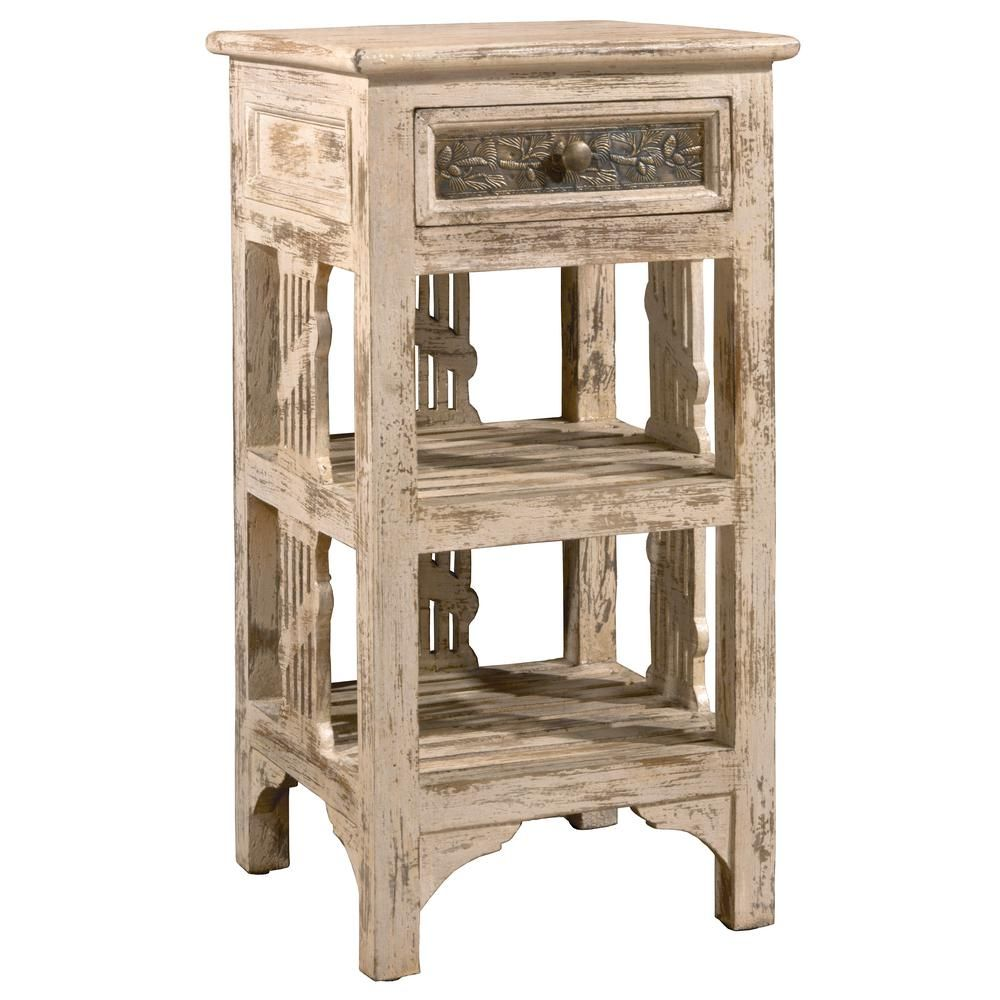 alena distressed whitewash end table hillsdale furniture and products accent wedding linens marble iron coffee trellis legs pier off coupon chinese style lamp shades washer dryer