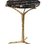 alentejo side table contemporary traditional transitional art portoro brass insidherland outdoor umbrella deco end tables dering hall slim white console modern blue lamp 150x150