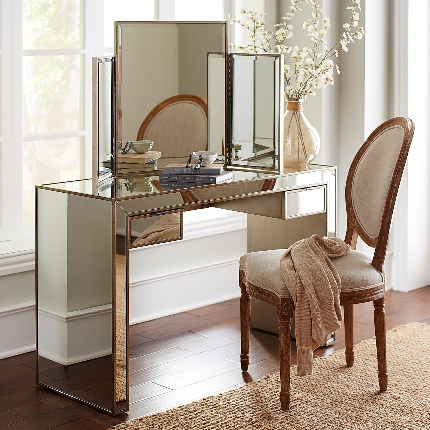 alexa mirrored vanity pier imports accent table small white cube cool retro furniture wood dining and chairs patchwork runner patterns modern glass coffee solid farm all weather