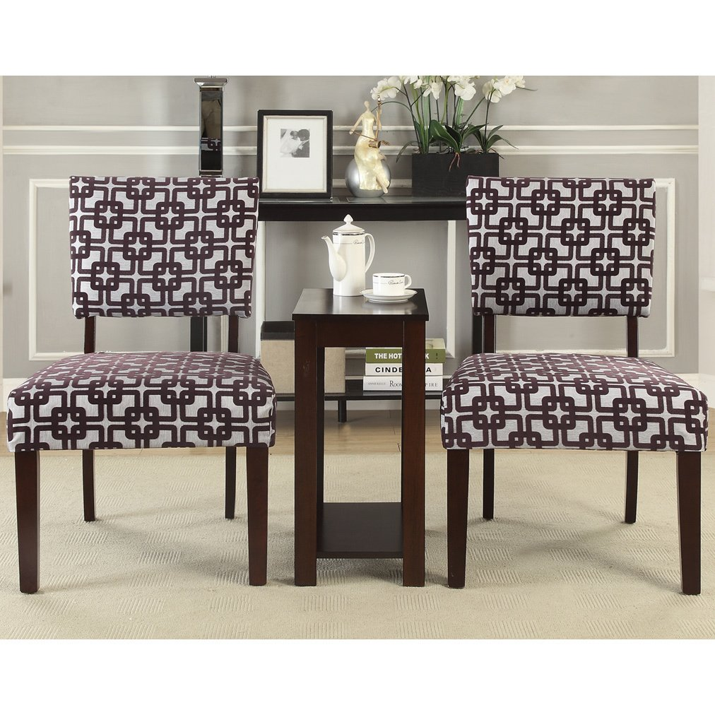 alexis crox piece accent chairs and side table set free chair shipping today uttermost laton mirrored quatrefoil ashley furniture counter height dining acrylic uplight lamps room