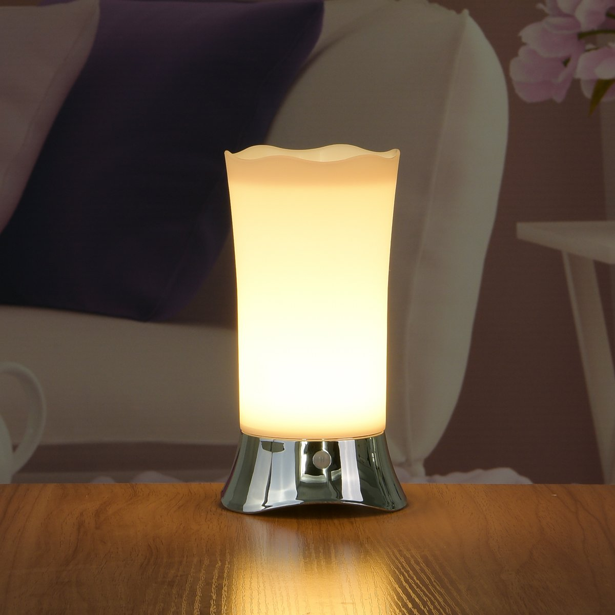 all cordless table lamps for living room bedroom battery operated accent zeefo indoor motion sensor led night light portable retro powered percussion stool side plans hampton bay