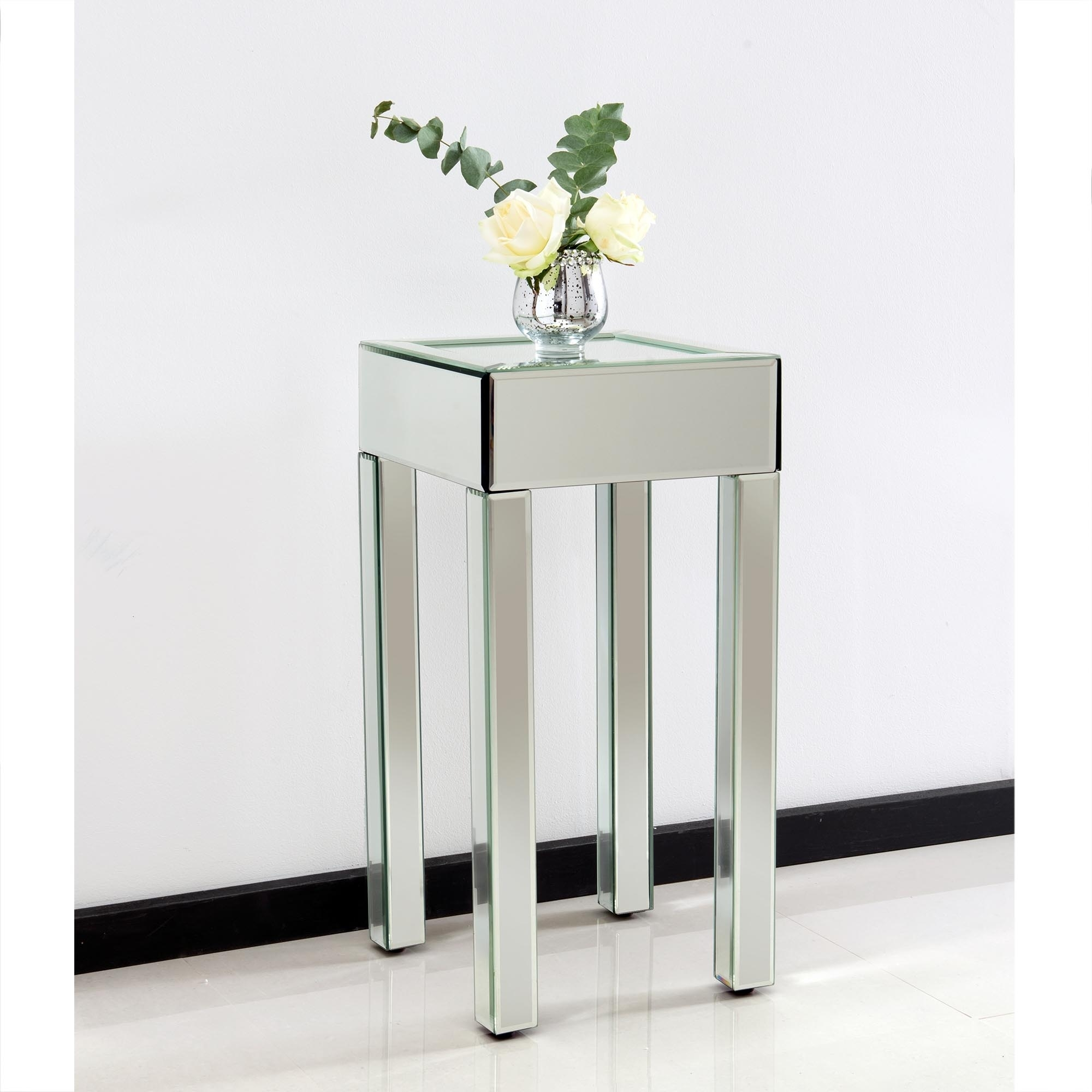 alluring small mirrored table silver mirror bedside console tray ideas runner light tabletop lamps round numbers chairs base side viola gold dining mats glass acrylic vanity