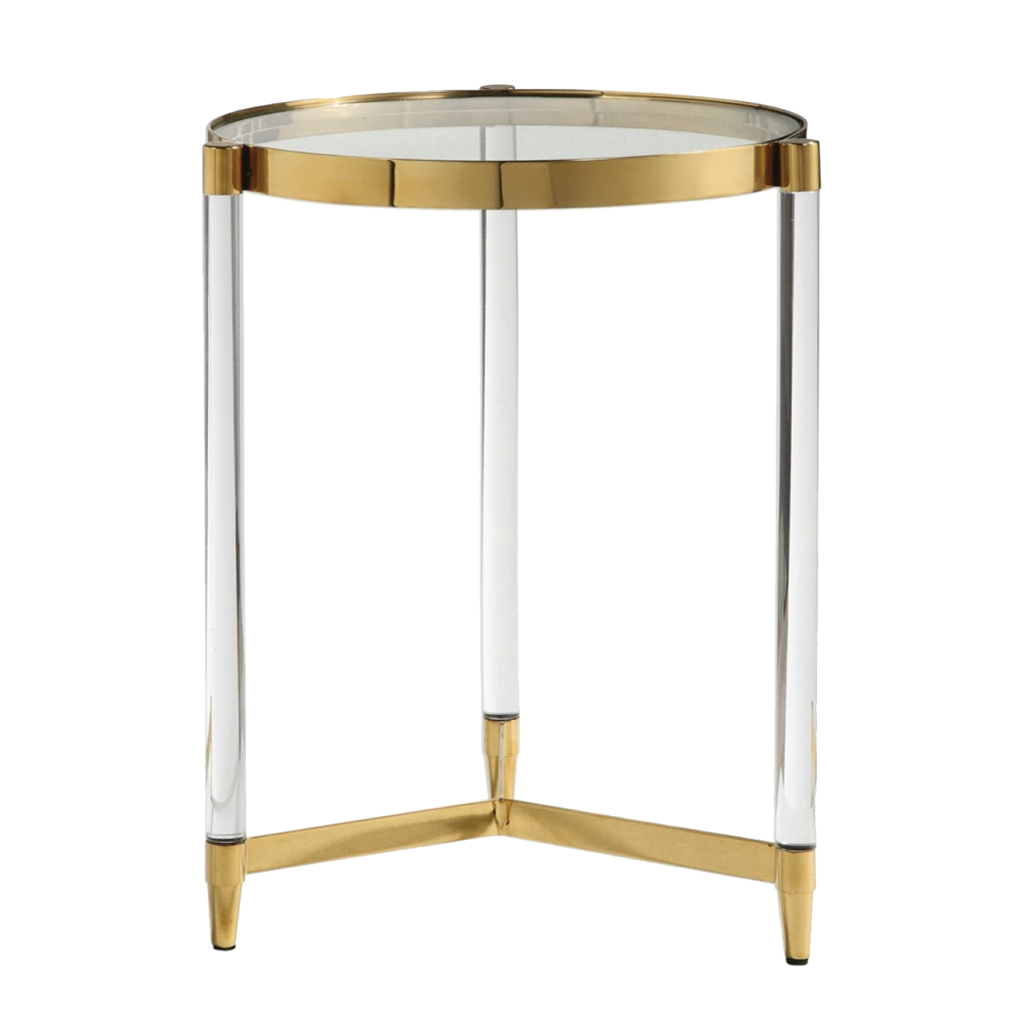 alton accent table natalie jayne interiors side tables gold and acrylic front night covers half circle glass top corner furniture marble brass coffee tray shoe organizer target