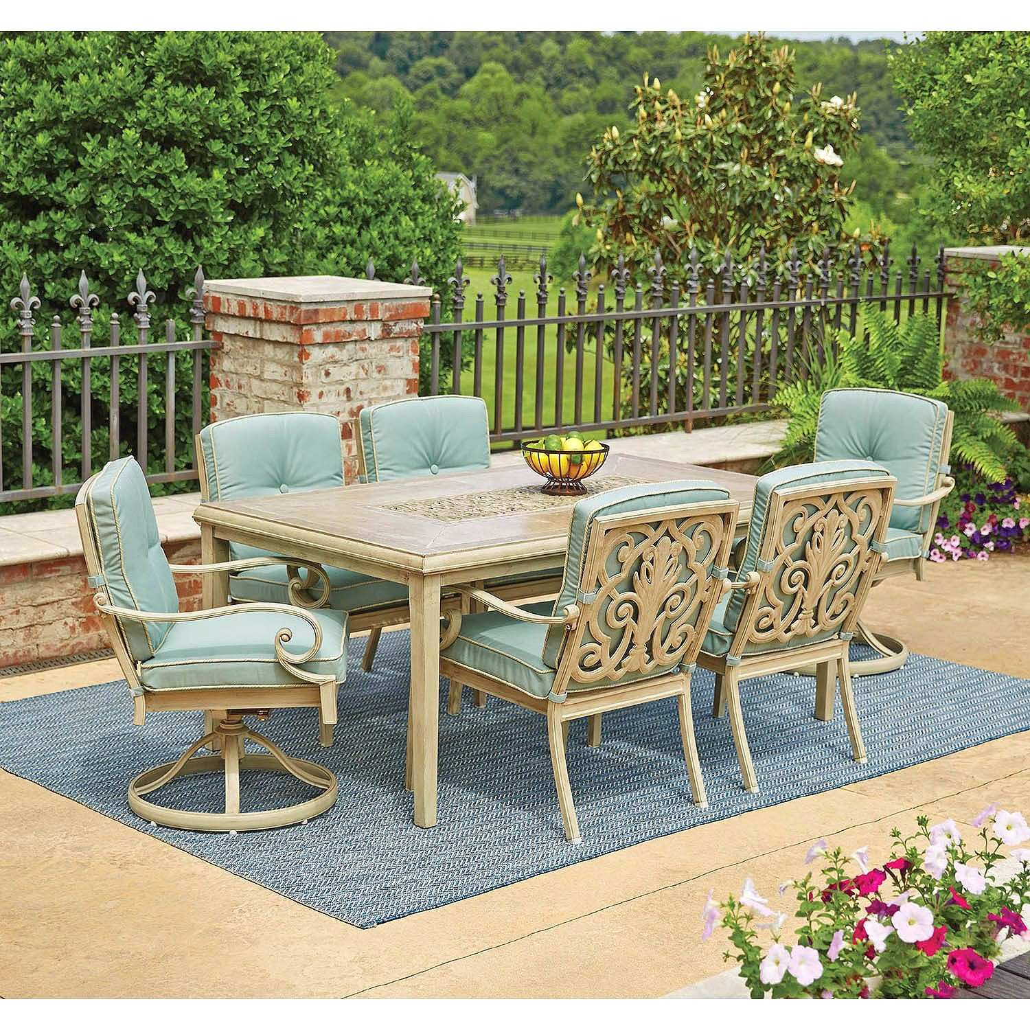 amazing hampton bay middletown patio set for new luxurious piece awesome stationary accent table small black furniture companies battery power pack lamp round side wood extra wide