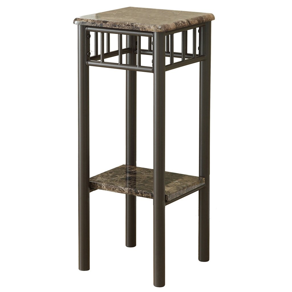 amazing monarch specialties accent table cappuccino marble bronze metal mirrored end tables nightstands globe light fixture frame side floor wine rack small round wood ikea dining