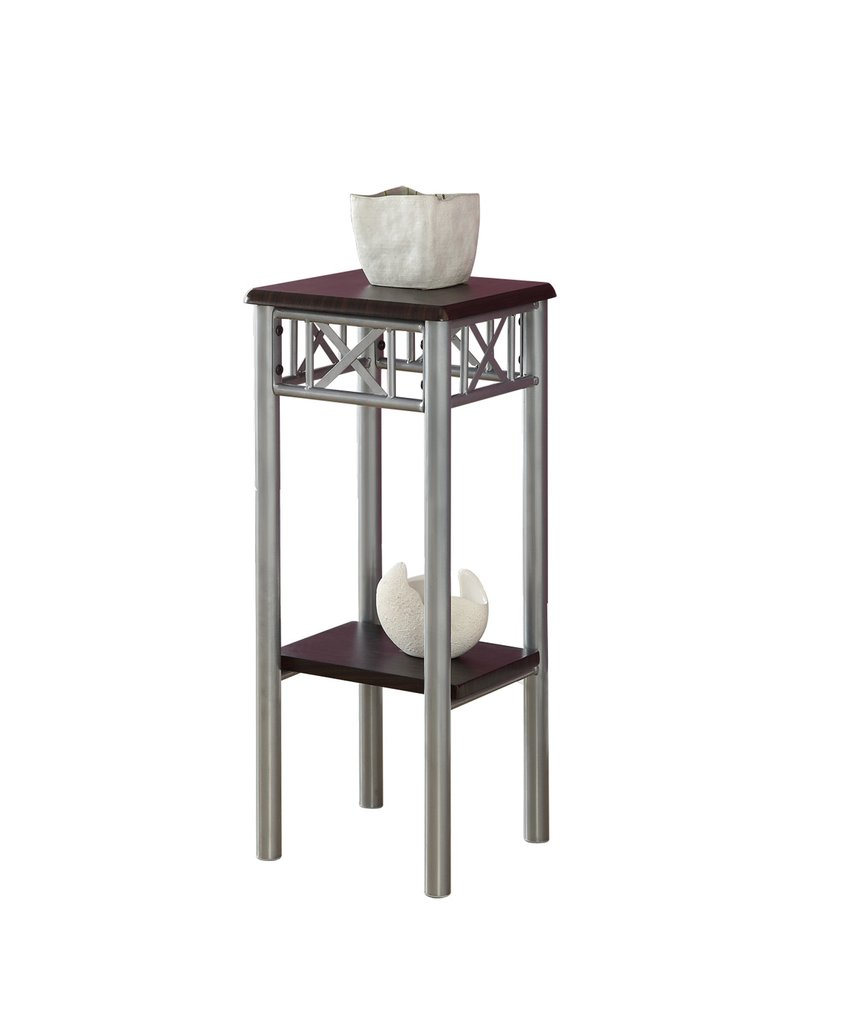 amazing monarch specialties accent table cappuccino silver metal oak stacking tables end cherry wedge livingroom side inexpensive lamps small coffee outdoor furniture gold coast