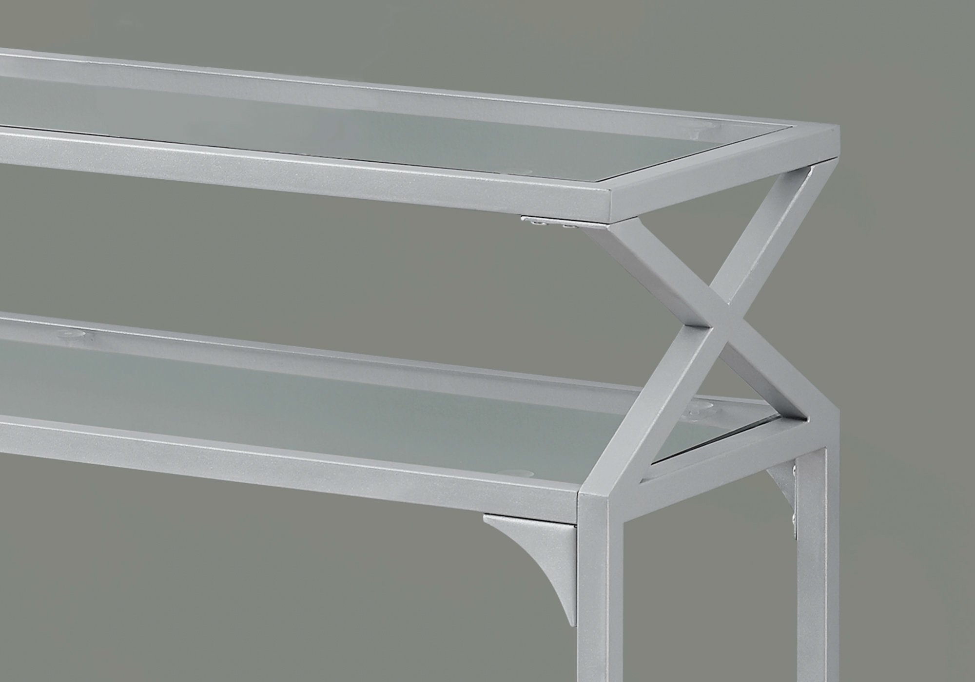 amazing monarch specialties accent table silver metal hall console square patio coffee small side hampton bay chaise lounge cushions teak outdoor end pool umbrella stand valley