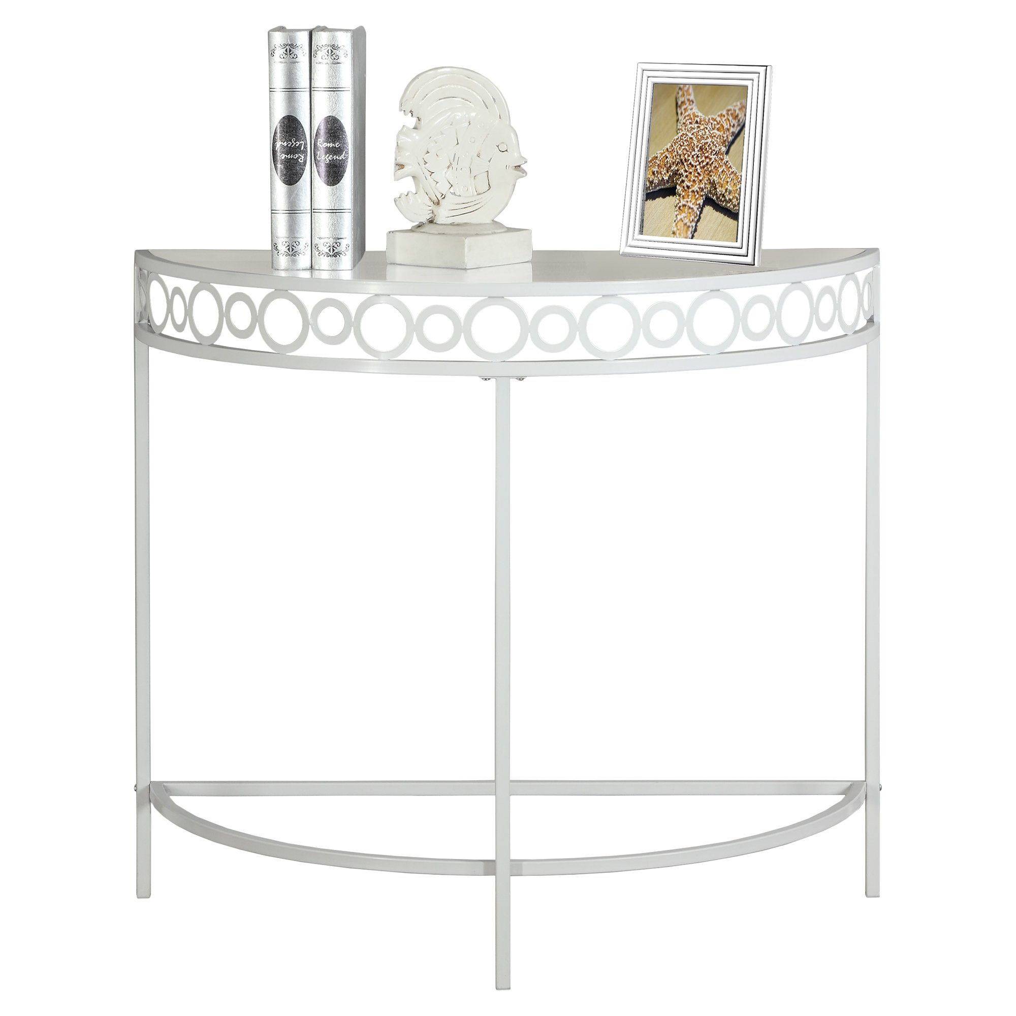 amazing monarch specialties accent table white hall console metal armchairs for small spaces sofa with stools set folding outdoor cooler stand lounge chairs clearance nightstand