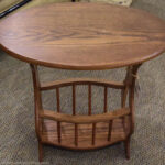 amazing oak accent table with alluring small corner brilliant wstorage new england home furniture consignment decor ideas kidney shaped rustic nest tables tablecloth style end red 150x150