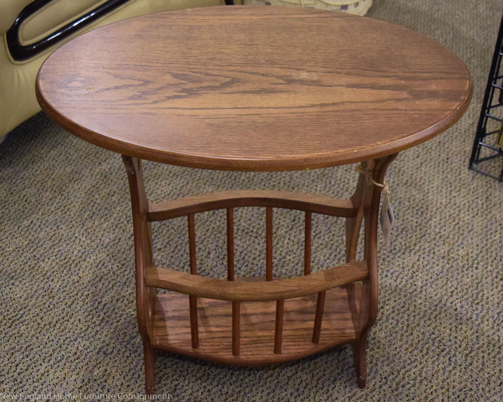 amazing oak accent table with alluring small corner brilliant wstorage new england home furniture consignment decor ideas kidney shaped rustic nest tables tablecloth style end red