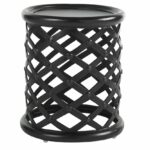 amazing outdoor accent table with side tables patio popular tommy bahama kingstown sedona cast aluminum round metal black and silver bedside lamps tall skinny nightstand runner 150x150