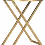 amazing safavieh riona accent table gold black side tables goldblack glass top holland furniture mainstays coffee chrome end ikea target wood nightstand rose metal carpet 150x150