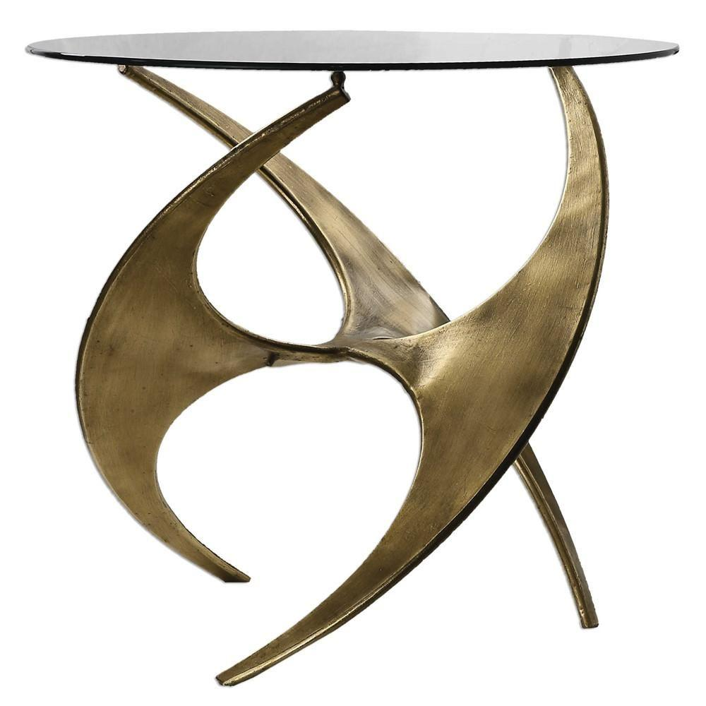 amazing uttermost utt graciano glass accent table side tables contemporary blue nest oval entry black mirrored bedside home interior accessories rustic metal legs west elm