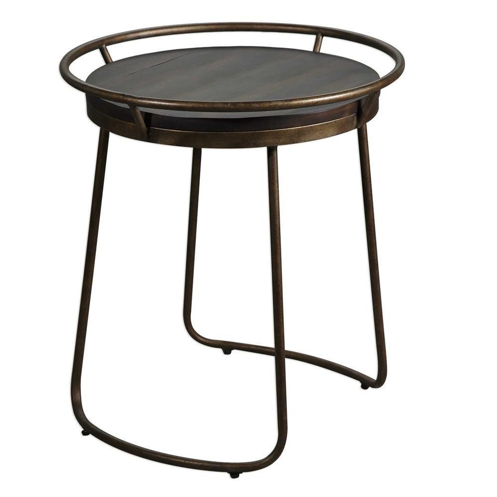 amazing uttermost utt rayen round accent table side tables edmonton bamboo retro orange chair wicker and chairs trestle pedestal dining vanora verizon tablet farmhouse corner wine