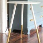 amazing west elm hacks for your home blitsy accent table all could use why not whip this inspired dipped leg side via chasing shiny objects round occasional tables with drawers 150x150