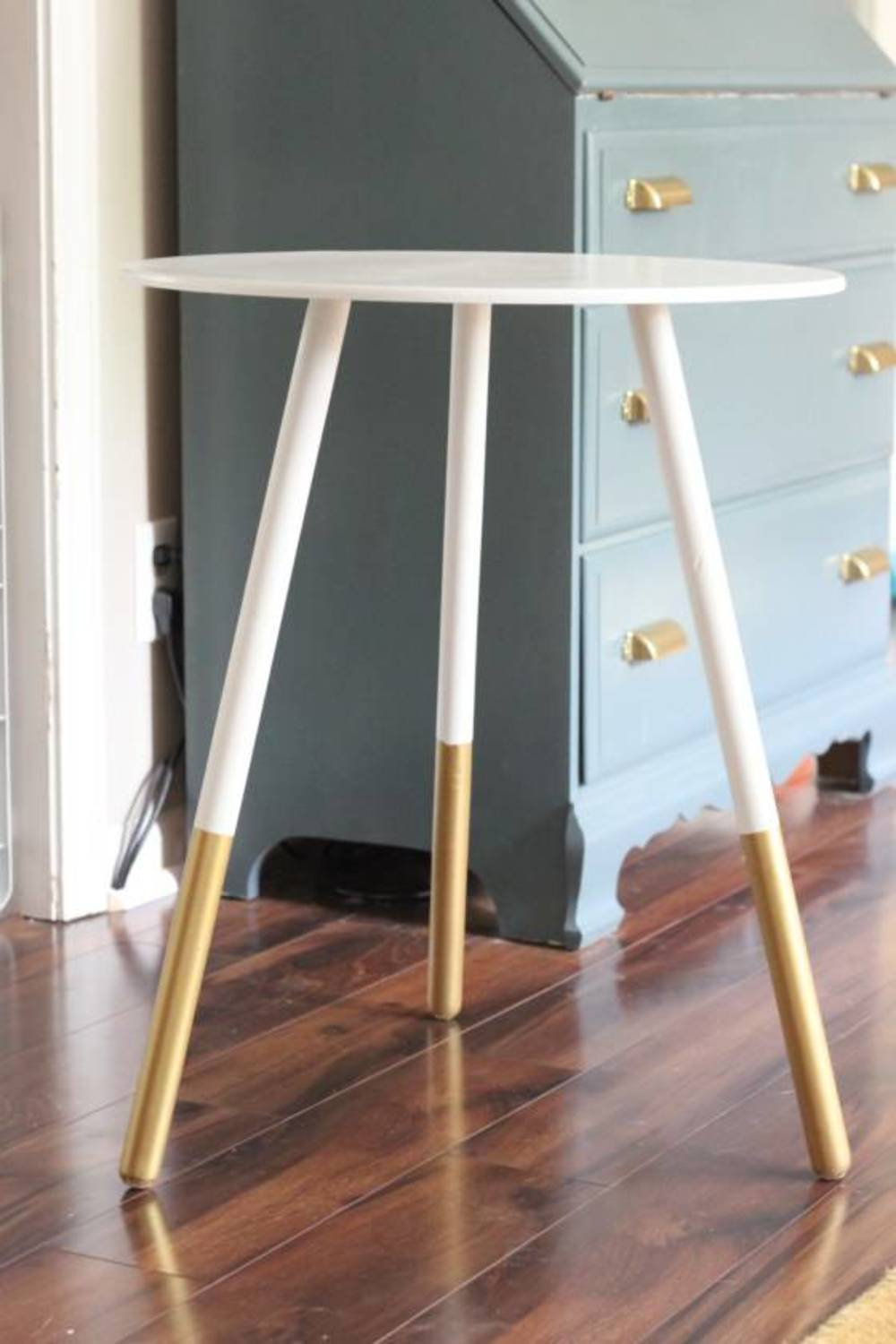 amazing west elm hacks for your home blitsy accent table all could use why not whip this inspired dipped leg side via chasing shiny objects round occasional tables with drawers