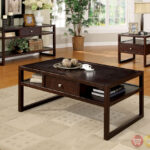 ambrose contemporary espresso accent tables with drawer ralph lauren table linens glass top end half circle hall coffee mat drum stand uma wooden console marble kitchen set 150x150