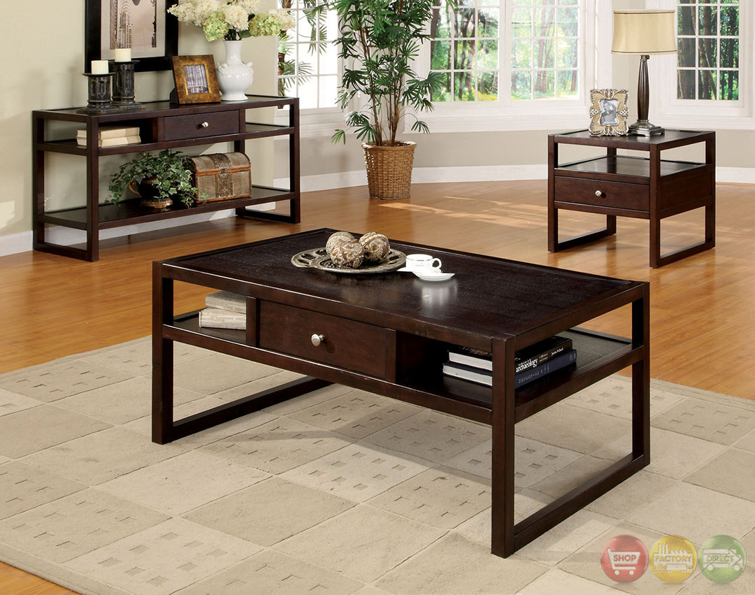 ambrose contemporary espresso accent tables with drawer ralph lauren table linens glass top end half circle hall coffee mat drum stand uma wooden console marble kitchen set