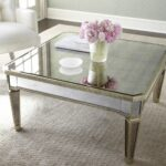amelie mirrored coffee table lovely livingroom pier accent frame made asian hardwood silvery finish golden accents covered antiqued veneers target futon mattress reclaimed wood 150x150